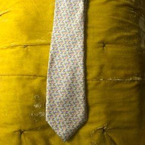 Vineyard Vines Pineapple Print Tie